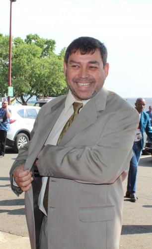 DA Leader in the Free Sate Provincial Legislature, Roy Jankielsohn, arrives at SOPA 2016.