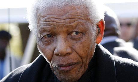 Nelson Mandela, Johannesburg, 17/6/10