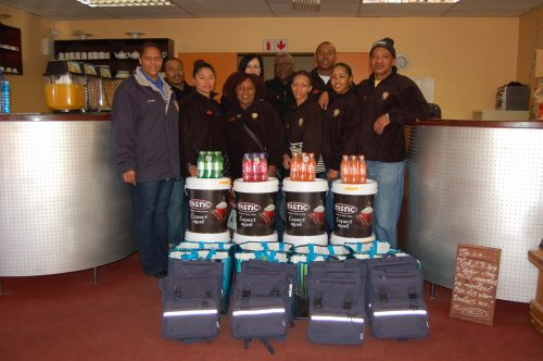 Scholars get support from local club Heidedal's Club X Society is a social society that celebrates its 21st birthday this year. One of the things the club commit to every year is supporting eight learners from schools within the comminuty with school clothes, stationary and even some food for the whole family. The childrenn were treated to a lovely breakfast at Daisy's Coffee Shop on Saterday as part of the handing over ceremony.