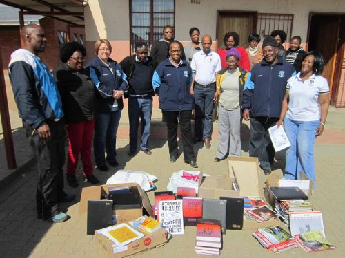"""CUT joins millions of people across the globe in commemorating Mandela Day. On Friday, 22 July 2016, the University will partner with Tsholetsang Primary School in Bloemfontein to commemorate the 67 minutes in honor of Madiba's 67 years of a life lived in struggle for peace, justice and equality for all South Africans. In celebration of the 67 minutes of community service, CUT will hand over books to the school's library in support of advancing the education of future leaders. """"We have been investing in the school since 2014 when the school approached us and identified space for a library, computers, furniture and books. We want these learners to be the best they can be, and have the tools they need to do so,"""" said CUT Librarian, Mr Julius Kabamba."""