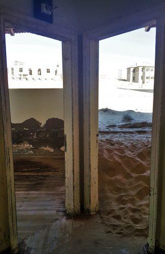 Die spookagtige Kolmanskop FOTO: MARICELLE BOTHA