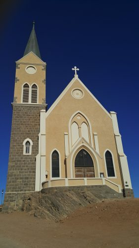 Die prominente Felsenkirche