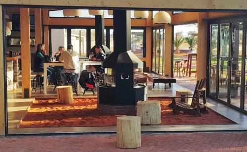 Die pragtige Kalahari Anib Lodge. FOTO MARICELLE BOTHA