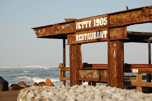 Swakop se bekende kaai, Jetty 1905. FOTO'S: MARICELLE BOTHA