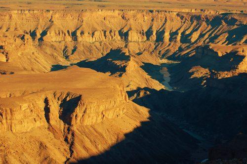 Die Visrivier-canyon FOTO: MARICELLE BOTHA