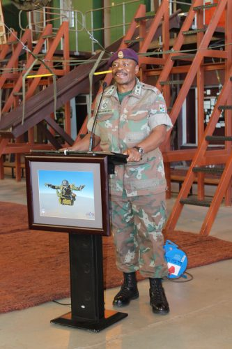 General Officer Commanding, SA Army Infantry Formation Major General, Rudzani Maphwanya. Photo: André Grobler
