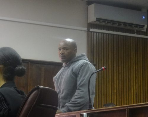 Bloemfontein DJ Thato 'Blueboy Bond' Booyen's murder accused was granted R1 000 bail after appearing in the Bloemfontein Magistrates court on late last year. Photo: Moeketsi Mogotsi