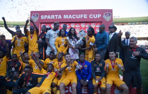 Kaizer Chiefs, the 2016 Sparta Macufe Cup champs.