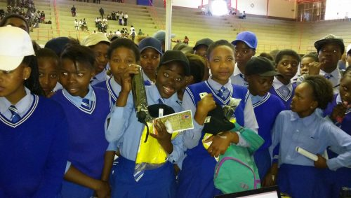The International Day for Disaster Risk Reductions was celebrated by learners recently.