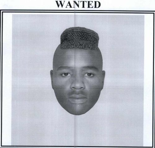 Idenkit of the second suspect is about 1.6 meter tall, light in complexion, medium built.