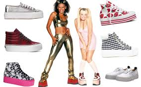 "Pop group the ""Spice Girls"" and their funky shoes/dailybeast.com"