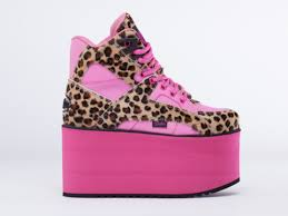 Not only were shoes funky but they were also fashionable/pinterest.com