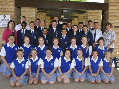 Swemmers van Martie du Plessis-skool het onlangs op die Suid-Afrikaanse LSOB Swemkampioenskap in Gauteng baie goed presteer. Tydens die kampioenskap, wat op 3 en 4 November gehou is, het die skool nie minder nie as 32 leerders in die Vrystaat-spesialeskole-swemspan opgelewer. 'n Wonderlike prestasie vir een skool. En die kersie op die koek was dat die Vrystaatspan boonop daarin geslaag het om vir die elfde agtereenvogende jaar die trofee as algehele wenners te verower. Hier is al die swemmers wat aan die kampioenskap deelgeneem het.