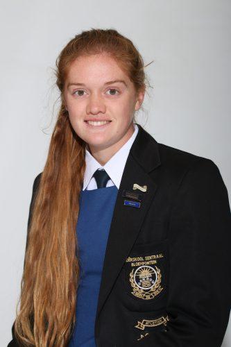 Maryna van Wyk is aangewys as die Veelsydigste graad 12-leerder in Sentraal. Sy kry die toekenning vir haar uitsonderlike prestasies in Akademie, Leierskap, Sport en Kultuur.