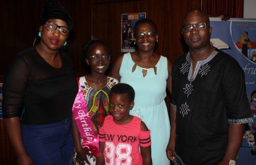 Reikantse's family have always supported her dreams. Rethsidisitswe Manaka (aunt), Reikantse, Matumelo Manaka (mother), Teboho Manaka (father) and Rorisang Manaka (sister).