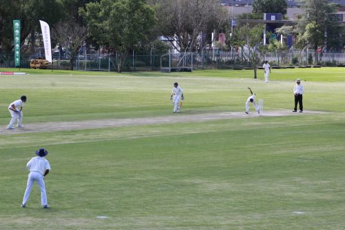 Young cricket players from the Rocklands Hub took on on the team from Grey College at the CASA Field at Grey College High School as part of an initiative by Cricket South Africa.