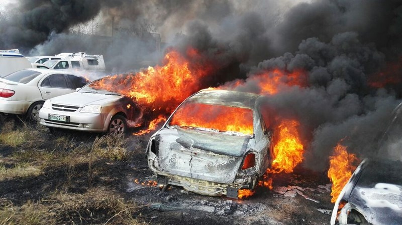 Cars For Sale Bay Area >> IN PICTURES: 37 cars damaged in Welkom blaze - Bloemfontein Courant