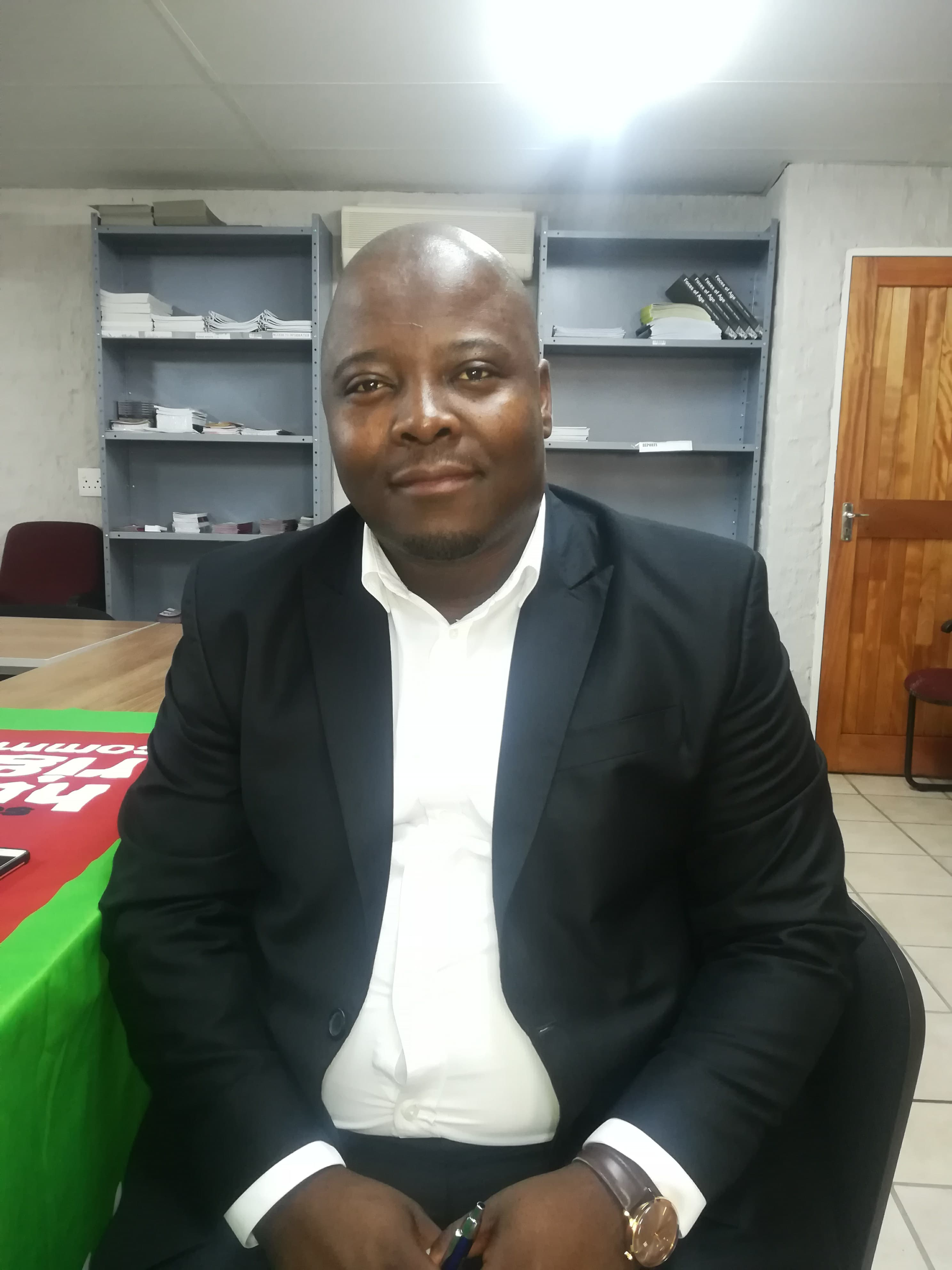 Provincial Manager at the Free State South African Human Rights Commission,  Thabang Kheswa