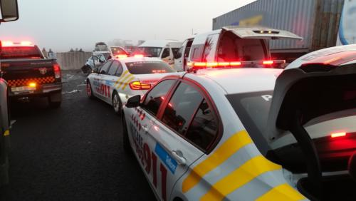TRAFFIC: Mist leads to major accident, road closure on N3