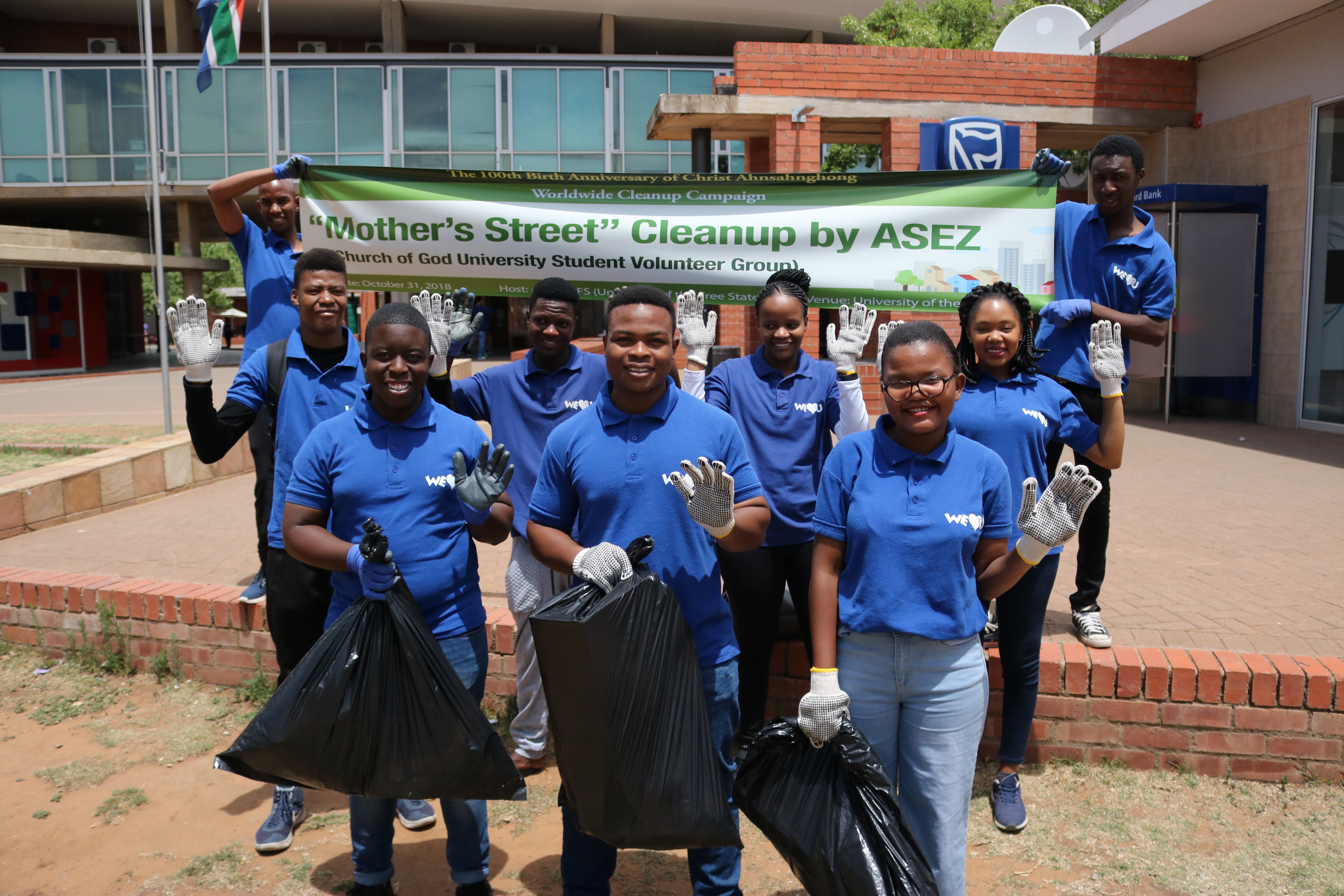 Worldwide 'Reduce Crime Together' Project - Bloemfontein ...