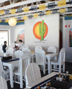 Enjoy the taste of the Hispanic at The Mexican.