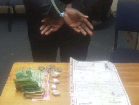 Welkom police welcome arrest of suspect in drug bust